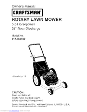 CRAFTSMAN 917.388592 Owner's Manual