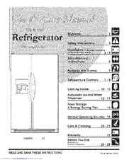 Frigidaire GLHS69EEPW7 Use & Care Manual