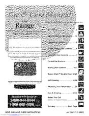 Frigidaire PLGFMZ98GCH Use & Care Manual