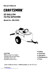 CRAFTSMAN 486.24533 Owner's Manual