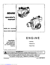 CRAFTSMAN 143.991200 Operator's Manual