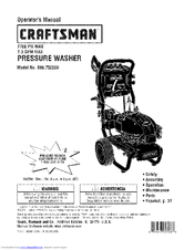 CRAFTSMAN 580.752220 Operator's Manual