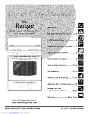 Frigidaire FGFL67DBF Use & Care Manual