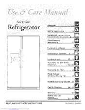 FRIGIDAIRE FRS3R5ESB0 USE & CARE MANUAL Pdf Download. on
