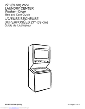 Frigidaire 97912 Use And Care Manual