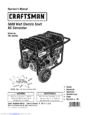 CRAFTSMAN 580.325650 Operator's Manual