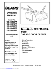 Craftsman 139 53641srt Manuals