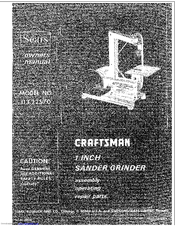 CRAFTSMAN 113.22570 Owner's Manual