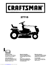 CRAFTSMAN 27715 Instruction Manual