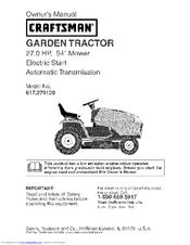 craftsman dgt6000 manual