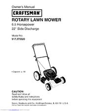 CRAFTSMAN 917.375520 Owner's Manual