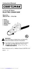 craftsman 358 341150 manuals rh manualslib com Craftsman 16 Chainsaw Manual 42Cc Craftsman 16 Chainsaw Manual 42Cc