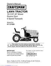 craftsman 917 275391 owner s manual pdf download