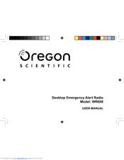 oregon scientific wr608 manuals rh manualslib com Oregon Scientific Clock Manual oregon scientific weather radio wr 103 manual