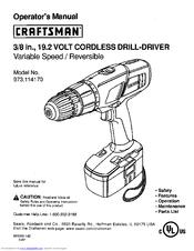 CRAFTSMAN 973.114170 Operator's Manual