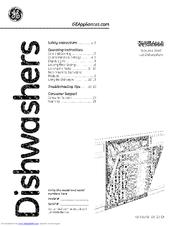ge pdwt380v00ss manuals rh manualslib com GE Profile Dishwasher Door GE Profile Dishwasher Black