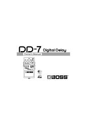 скачать руководство пользователя boss dd-7