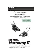 honda hrt216sda harmony ii owner s manual pdf download rh manualslib com honda harmony ii hrr216 service manual