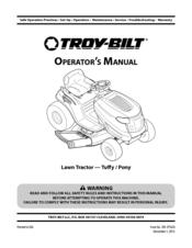 troy bilt pony manuals rh manualslib com troy bilt pony manual model 31c707 troy bilt pony manual or 2011