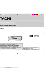 Hitachi HTADD3E Instruction Manual