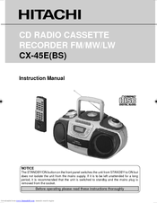 Hitachi CX-45E User Manual
