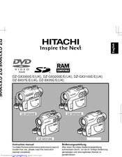 hitachi dz bx35e manuals rh manualslib com Hitachi DVD Cam 16X Optical Zoom Hitachi DVD Camcorder Battery
