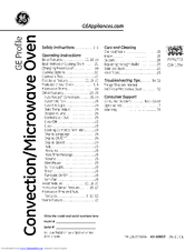 ge profile pvm1790 manuals rh manualslib com ge profile spacemaker microwave owner's manual ge spacemaker microwave user manual