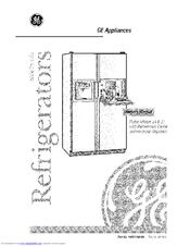 ge tfx27pfx manuals rh manualslib com ge fridge service manual ge monogram mini fridge owner's manual
