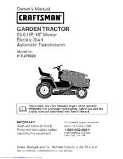 craftsman gt 5000 manual pdf
