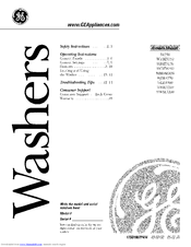 GE WASE5210 Owner's Manual
