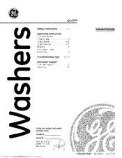 GE WCSR2090G3WW Owner's Manual