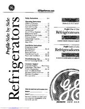 ge arctica pss 27 series manuals rh manualslib com GE Customer Service ge profile arctica repair manual
