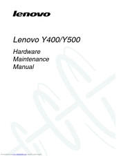Lenovo IdeaPad Y500 Hardware Maintenance Manual