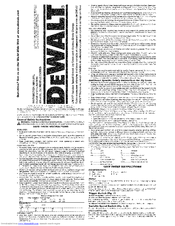 dewalt dw317 instruction manual pdf download rh manualslib com