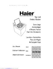 haier xqj100 96a user manual pdf download rh manualslib com Haier Room Air Conditioner Manual Haier Portable Air Conditioner Manual
