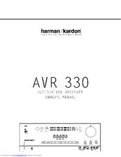 AVR330 Source · Harman Kardon NOCTURNE 330 Owner s Manual