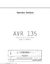 harman kardon avr 135 manuals rh manualslib com