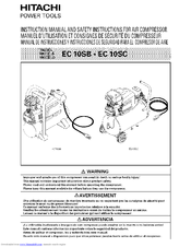Hitachi EC 10SC Instruction Manual