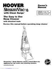 Hoover steamvac ultra manuals.