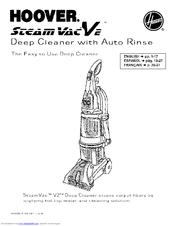 hoover f7425 900 steamvac dual v manuals rh manualslib com Hoover SteamVac SpinScrub Service Manual hoover steamvac dual v owners manual