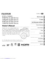 fujifilm finepix sl300 series manuals rh manualslib com fujifilm finepix sl300 manual español fuji finepix sl300 manual