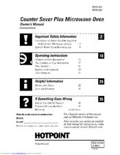 hotpoint counter saver plus rvm1435 manuals rh manualslib com