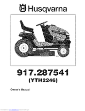 Husqvarna Yth2246 Manuals border=