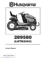 husqvarna lgth2454 manuals. Black Bedroom Furniture Sets. Home Design Ideas