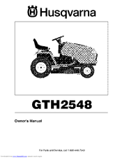 husqvarna gth2548 manuals rh manualslib com GTH2548 Husqvarna Attachments Husqvarna Model GTH2548