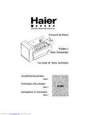 HAIER HI1MK Installation Instructions Manual