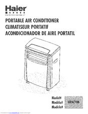 Haier Hpac9m Portable Air Conditioner Manuals