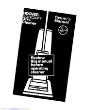 hoover nextra condenser dryer user manual