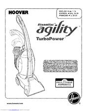 hoover steamvac spinscrub instructions