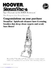 hoover power scrub spinscrub 50 manual